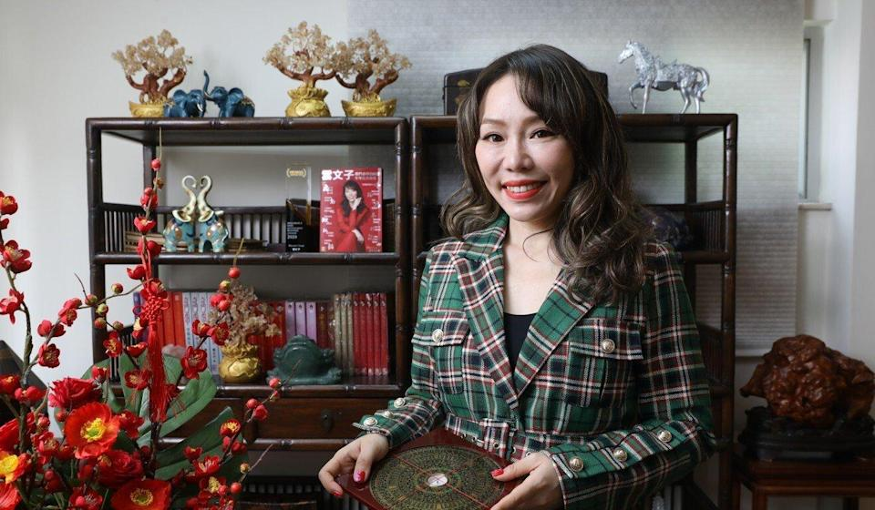 Celebrity fortune-teller Yunwenzi's clients include Credit Suisse. Photo: K. Y. Cheng