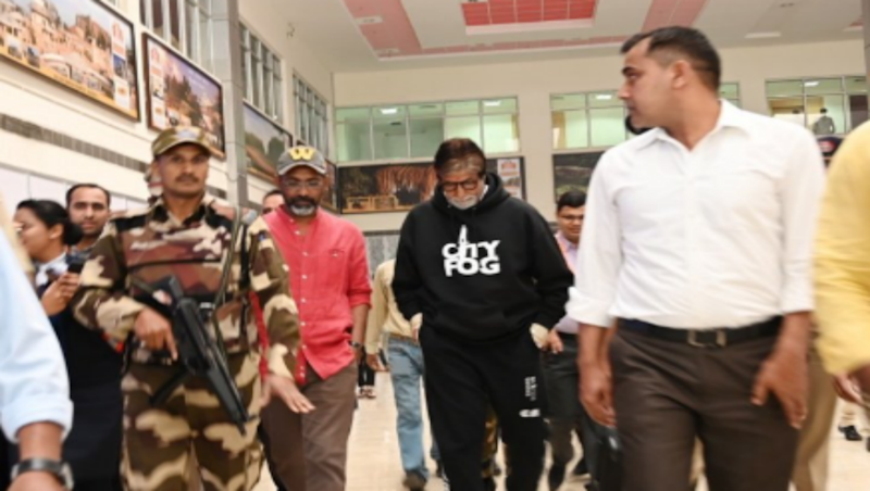 Amitabh Bachchan Arrives in Nagpur to Start Shooting for Nagraj Manjule's 'Jhund'