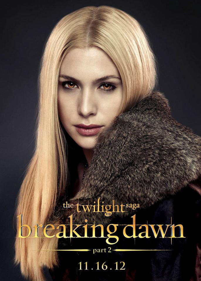 "Casey LaBow as Kate in Summit Entertainment's ""The Twilight Saga: Breaking Dawn - Part 2"" - 2012"