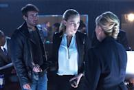 """<p><b>What's Coming Up:</b> Season 2 picks up right where we left off, with Jackson (James Wolk) and Co. facing a wall of animals who don't want them to reunite with Jamie (Kristen Connolly), who's stranded elsewhere with their best shot at stopping the animal-led apocalypse. """"In Season 2, the mutation has found its way to some animals that can affect environmental change,"""" Wolk says. """"So not only are the animals attacking humans, but they're making the planet, in certain ways, uninhabitable, which creates a whole new danger and excitement for the show."""" For Wolk, too: He's wrangled a five-foot snake and been on set with a polar bear.<br><br><b>Shirting the Issue:</b> We could tell you about new characters (Jamie will meet a lone survivor on her journey back, a general will still be advocating for the culling of all animals), but what you really want to know is if we'll see Wolk with his shirt open again, right? """"That's a great question. I was hoping you would ask that,"""" says the star with a laugh. """"I believe so. I believe that will occur again."""" <i>— Mandi Bierly</i><br><br><i>(Credit: CBS)</i> </p>"""