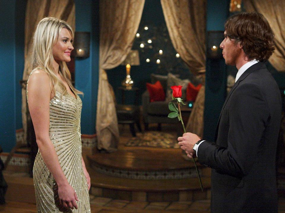 """Brittney and Ben on season 16 of """"The Bachelor."""""""