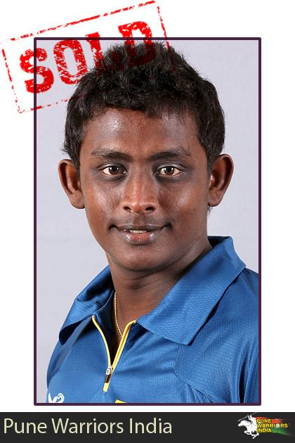 Ajantha Mendis goes to the Pune Warriors for $725,000
