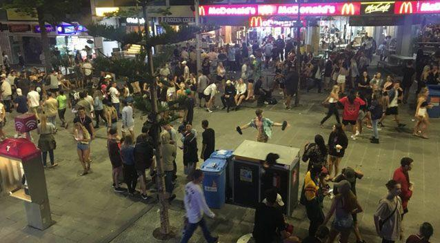 Twice as many female school leavers have been treated for intoxication and drug use at Queensland's Schoolies. Photo: Queensland Ambulance Service
