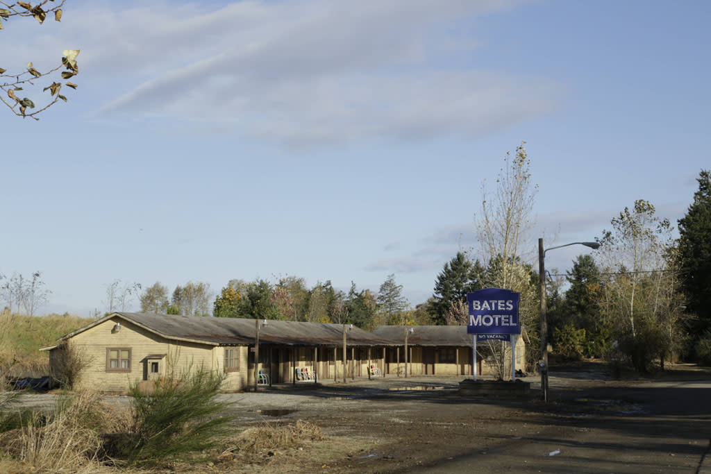 "The Bates Motel in A&E's new series ""Bates Motel"" coming in March 2013."