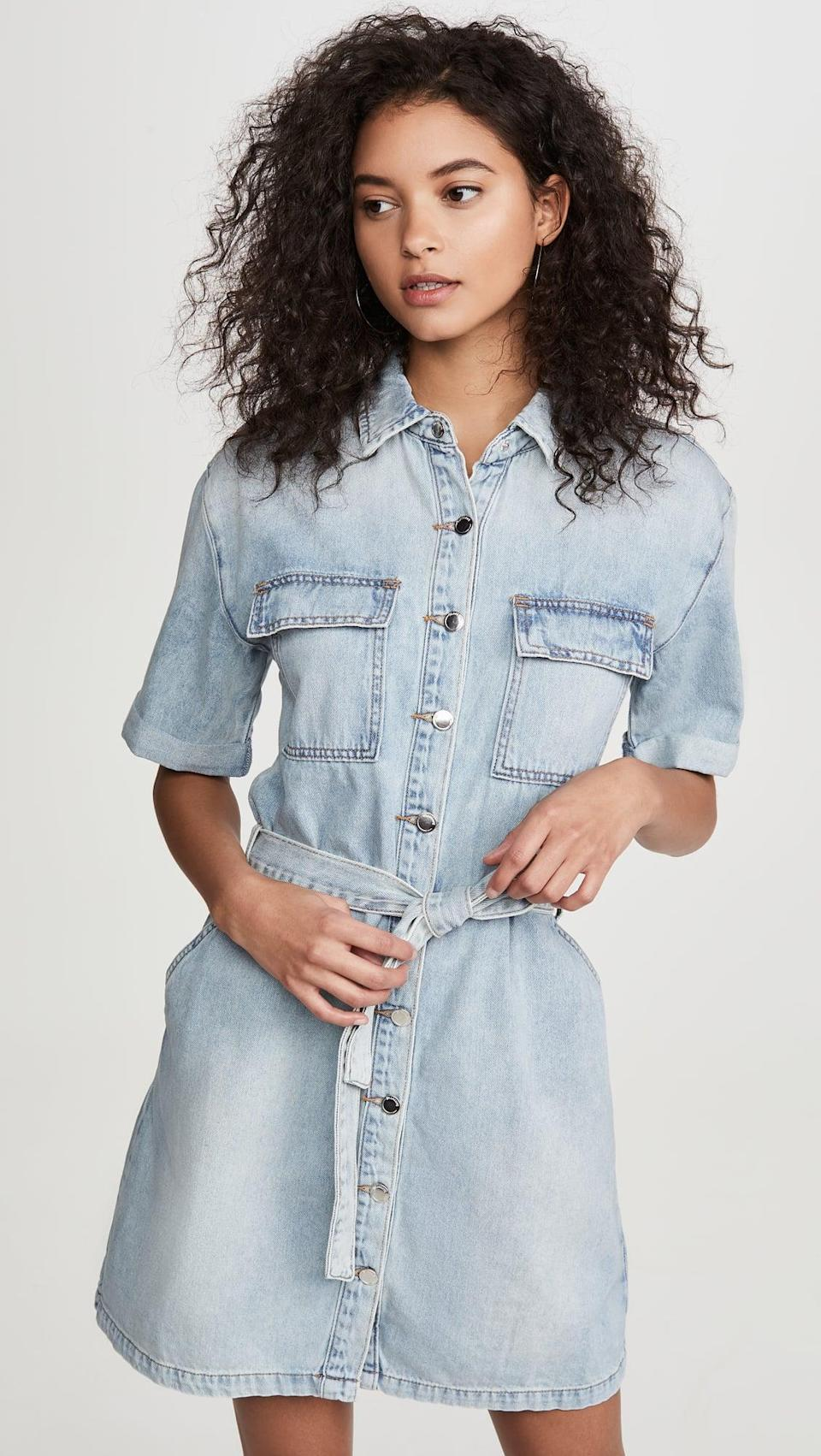 "<p>Your friends will want to know where this chic <a href=""https://www.popsugar.com/buy/Blank-Denim-Carribean-Blue-Dress-582006?p_name=Blank%20Denim%20Carribean%20Blue%20Dress&retailer=shopbop.com&pid=582006&price=98&evar1=fab%3Aus&evar9=35329485&evar98=https%3A%2F%2Fwww.popsugar.com%2Ffashion%2Fphoto-gallery%2F35329485%2Fimage%2F47550212%2FBlank-Denim-Carribean-Blue-Dress&list1=shopping%2Cdenim%2Csummer%20fashion%2Cfashion%20shopping&prop13=mobile&pdata=1"" class=""link rapid-noclick-resp"" rel=""nofollow noopener"" target=""_blank"" data-ylk=""slk:Blank Denim Carribean Blue Dress"">Blank Denim Carribean Blue Dress</a> ($98) is from.</p>"