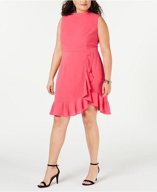 """<p>Wear this <a href=""""https://www.popsugar.com/buy/Betsey-Johnson-Trendy-Plus-Size-Ruffled-Dress-492947?p_name=Betsey%20Johnson%20Trendy%20Plus%20Size%20Ruffled%20Dress&retailer=macys.com&pid=492947&price=59&evar1=fab%3Aus&evar9=46647533&evar98=https%3A%2F%2Fwww.popsugar.com%2Ffashion%2Fphoto-gallery%2F46647533%2Fimage%2F46653146%2FBetsey-Johnson-Trendy-Plus-Size-Ruffled-Dress&list1=shopping%2Cdresses%2Ccurve%2Cmacys%2Ccurve%20fashion&prop13=mobile&pdata=1"""" rel=""""nofollow"""" data-shoppable-link=""""1"""" target=""""_blank"""" class=""""ga-track"""" data-ga-category=""""Related"""" data-ga-label=""""https://www.macys.com/shop/product/betsey-johnson-trendy-plus-size-ruffled-dress?ID=8323738&amp;CategoryID=37038#fn=sp%3D1%26spc%3D1345%26ruleId%3D87%7CBOOST%20SAVED%20SET%7CBOOST%20ATTRIBUTE%26searchPass%3DmatchNone%26slotId%3D59"""" data-ga-action=""""In-Line Links"""">Betsey Johnson Trendy Plus Size Ruffled Dress</a> ($59, originally $98) to your next cocktail party.</p>"""