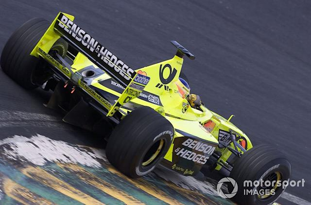 "Jordan EJ10B (2000) <span class=""copyright"">Steve Etherington / Motorsport Images</span>"