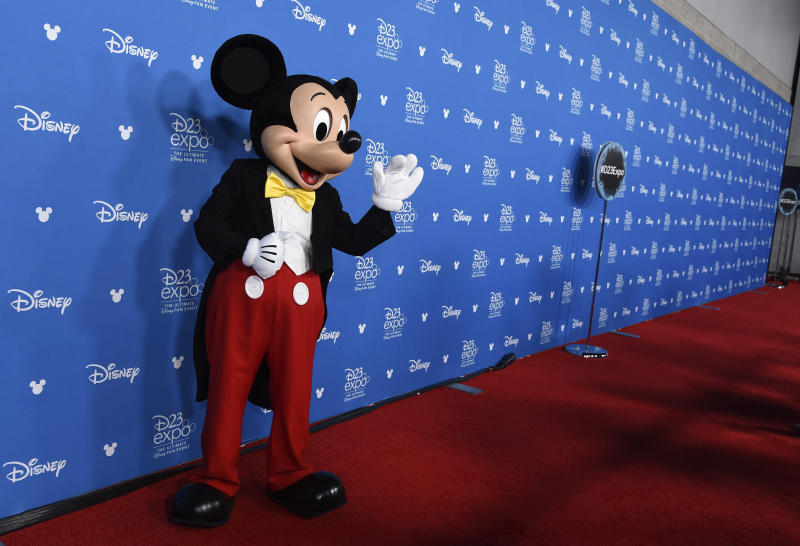2019 D23 Expo - Disney Legends Press Line