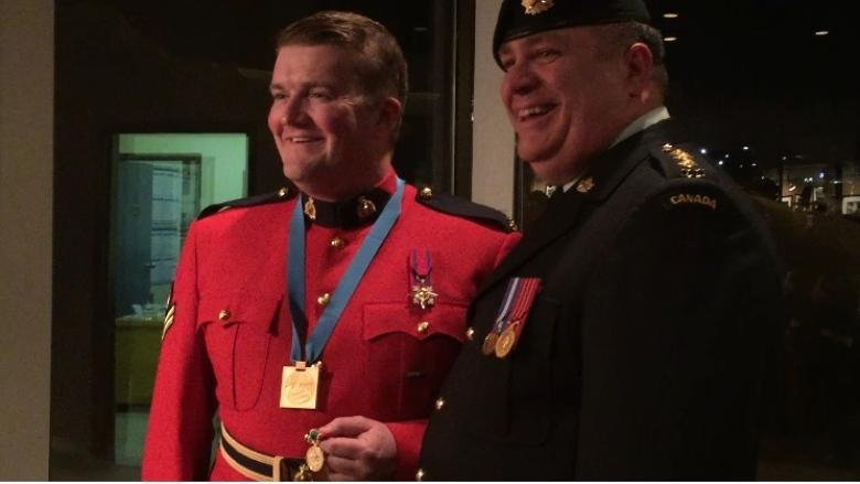 Hometown hero: Cpl. Curtis Barrett honoured in Labrador West