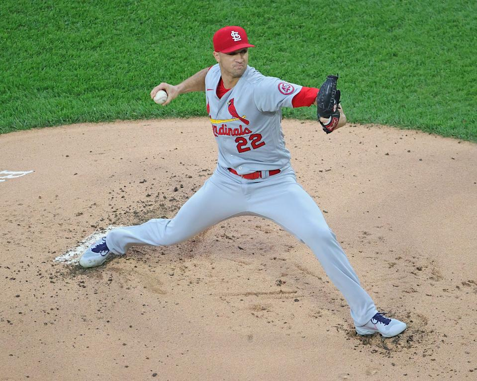 Cardinals pitcher Jack Flaherty will take on the Dodgers on Monday night. (Photo by Jonathan Daniel/Getty Images)