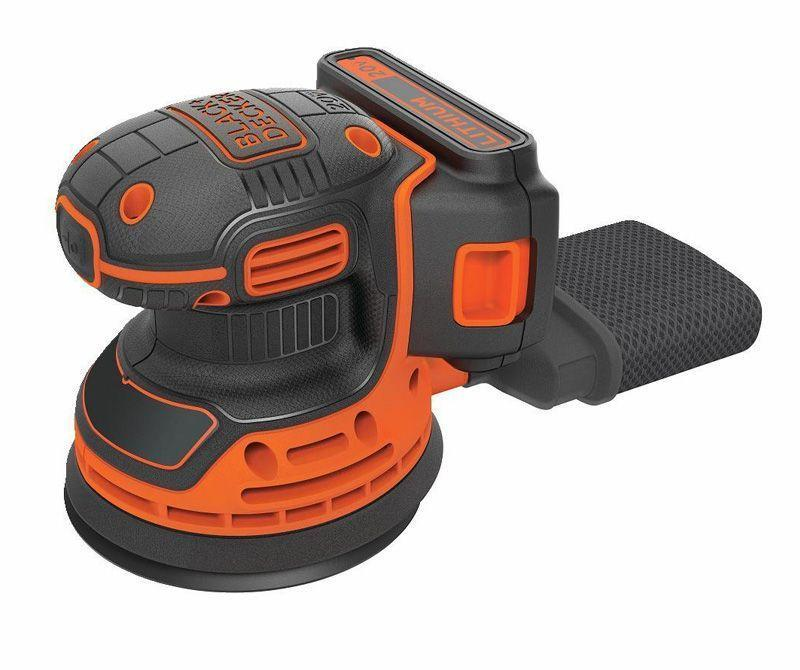 """<p><strong>BLACK+DECKER</strong></p><p>amazon.com</p><p><strong>$59.99</strong></p><p><a href=""""https://www.amazon.com/dp/B07456PWNL?tag=syn-yahoo-20&ascsubtag=%5Bartid%7C10060.g.26626730%5Bsrc%7Cyahoo-us"""" rel=""""nofollow noopener"""" target=""""_blank"""" data-ylk=""""slk:Buy Now"""" class=""""link rapid-noclick-resp"""">Buy Now</a></p><p><strong>Weight: </strong>2.8 lb.<strong> <br></strong><strong>Battery</strong><strong>:</strong> 1.5 Ah, 20 V</p><p>It's not pro-duty, but the BDCRO20C is a good little machine for the price and very lightweight. For small weekend fix-up jobs, there's no question it will work well, particularly when sending less-demanding materials like white pine. While it's a good idea to wear a dust mask with any sander, it's necessary here—it has fairly ineffective dust collection.</p>"""