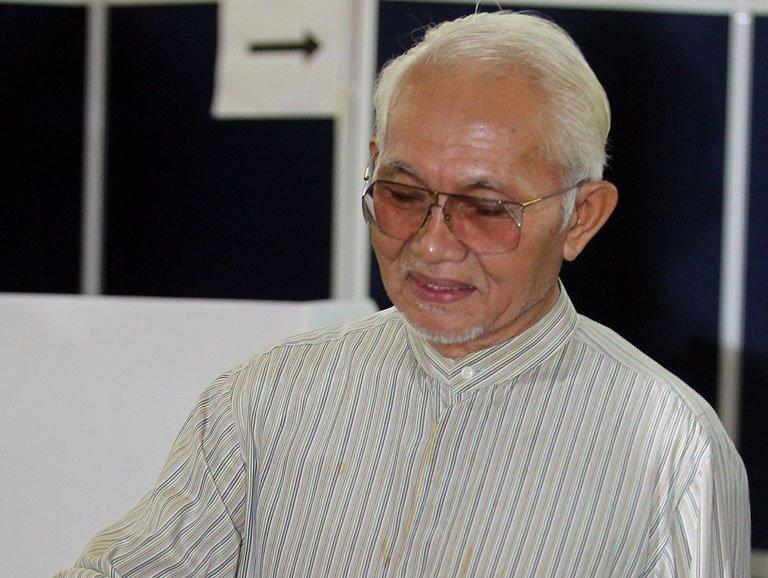 Sarawak's chief minister Taib Mahmud, pictured in Kuching, the capital city of Sarawak state on April 16, 2011