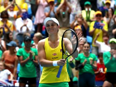 Fed Cup Final 2019: Ashleigh Barty makes it 1-1 for Australia with commanding win over France's Caroline Garcia