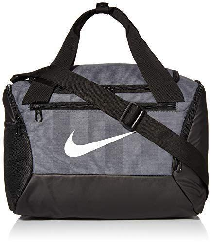 """<p><strong>Nike</strong></p><p>amazon.com</p><p><strong>$39.99</strong></p><p><a href=""""https://www.amazon.com/dp/B07KR2HPYL?tag=syn-yahoo-20&ascsubtag=%5Bartid%7C2140.g.33902097%5Bsrc%7Cyahoo-us"""" rel=""""nofollow noopener"""" target=""""_blank"""" data-ylk=""""slk:Shop Now"""" class=""""link rapid-noclick-resp"""">Shop Now</a></p><p>If his old book bag could use an upgrade, you can't go wrong with this duffel bag. He can use it if he needs to travel, but it can also double up as a school bag that's big enough to hold his laptop. </p>"""