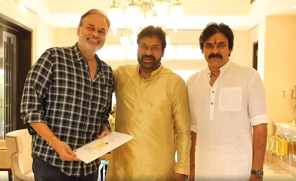 Chiranjeevi and his brothers