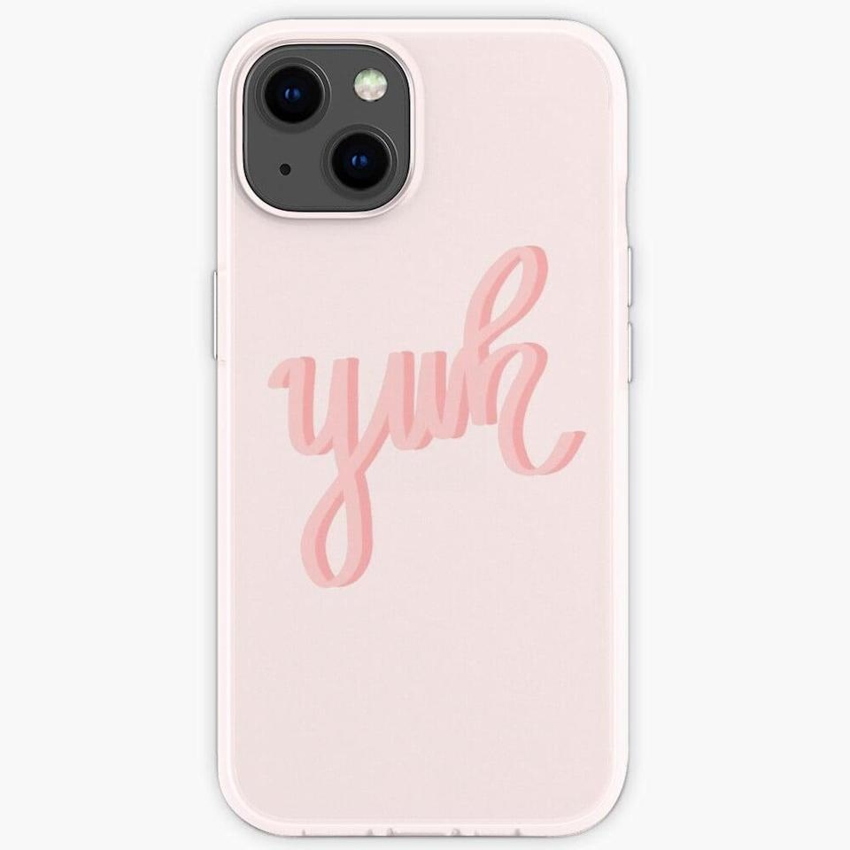"""<p>There's nothing more quintessentially Ari than the phrase """"yuh."""" The <span>yuh iPhone Case</span> ($21) is such a fun find!</p>"""