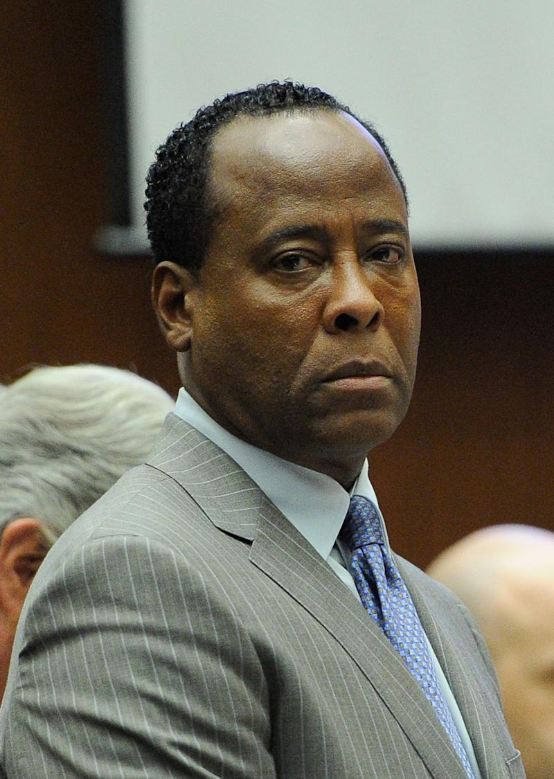 FILE - In this file photo taken Tuesday, Nov. 1, 2011 Dr. Conrad Murray waits to leave the courtroom during the final stage of his defense in his involuntary manslaughter trial in the death of singer Michael Jackson. Supervising Deputy Attorney General Victoria B. Wilson  said Monday May 13, 2013 an appeal by the doctor convicted of causing Michael Jackson's death should be rejected because there were no errors made during the criminal case that warrant overturning a jury's verdict. (AP Photo/Kevork Djansezian, Pool, File)