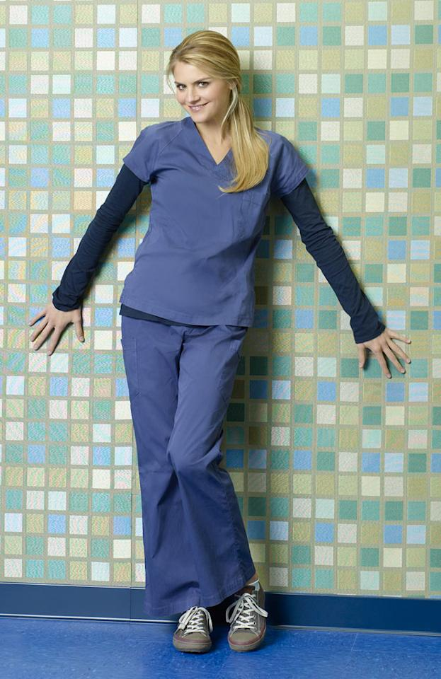 "Eliza Coupe stars as Denise in ""Scrubs."""