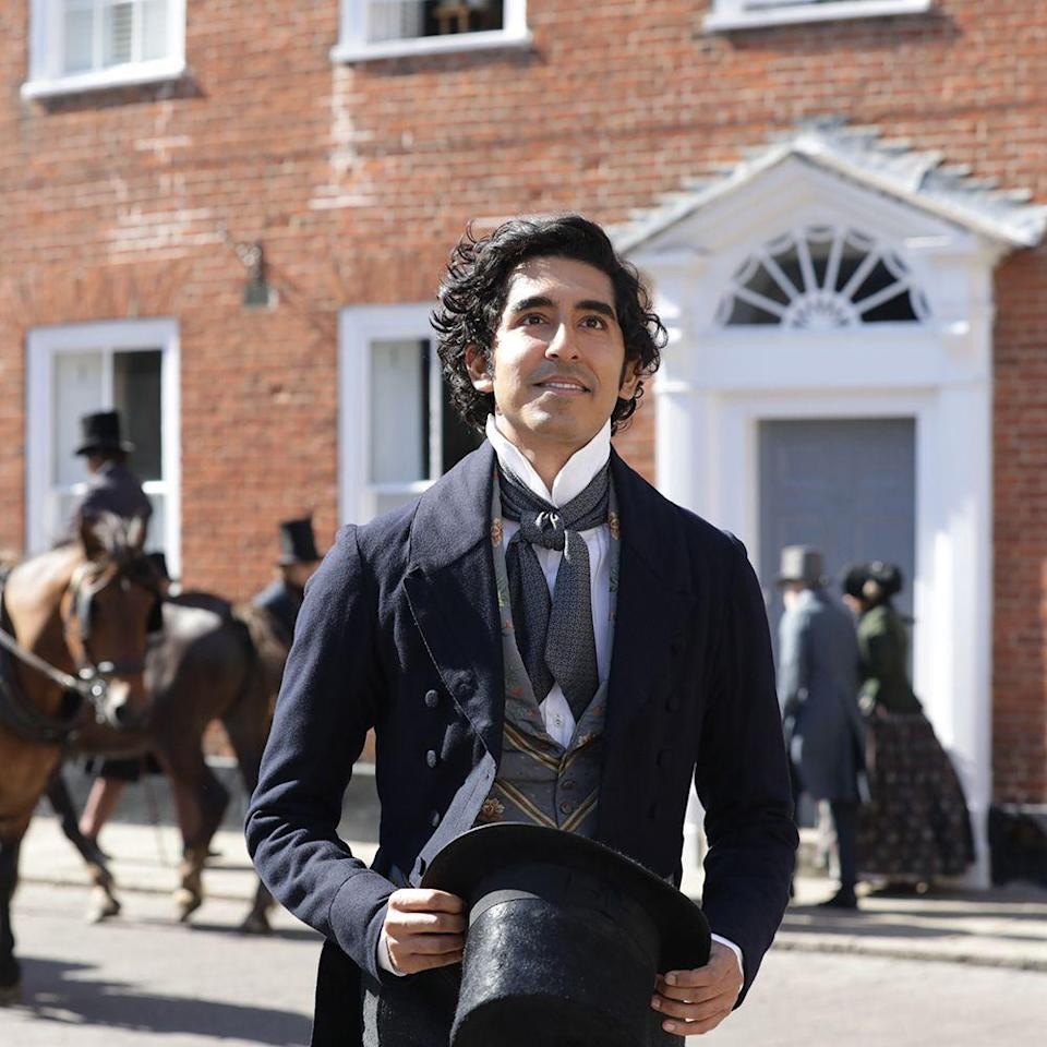 """<p>It's easy to fall for a period piece that stars Dev Patel as Charles Dickens's favorite character, David Copperfield. But what makes this costume comedy even more alluring is the fact that it's scripted by Simon Blackwell, one of the writers of <em>Veep, Four Lions,</em> and <em>In the Loop</em>, and directed by Armando Iannucci, helmer of the aforementioned laugh riots as well as <em>The Death of Stalin</em>. Oh, and Tilda Swinton costars. Alas, we'll have to wait another several weeks. This one's on hiatus too.</p><p><strong>Original release date:</strong> May 8</p><p><strong>Now set for: </strong><a href=""""https://www.searchlightpictures.com/thepersonalhistoryofdavidcopperfield/"""" rel=""""nofollow noopener"""" target=""""_blank"""" data-ylk=""""slk:August 14"""" class=""""link rapid-noclick-resp"""">August 14</a></p>"""