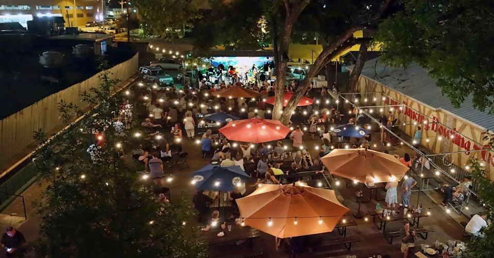 """<p>German and Texan food come together in beautiful harmony at this <a href=""""https://www.tripadvisor.com/Restaurant_Review-g30196-d437707-Reviews-Scholz_Garten-Austin_Texas.html"""" rel=""""nofollow noopener"""" target=""""_blank"""" data-ylk=""""slk:restaurant and beergarden"""" class=""""link rapid-noclick-resp"""">restaurant and beergarden</a> that's been in Austin since 1866. August Scholz, a German immigrant, opened the place after the Civli War ended, and crowds flock here to celebrate UT football wins while scarfing soft pretzels, fried chicken, and beyond.</p>"""