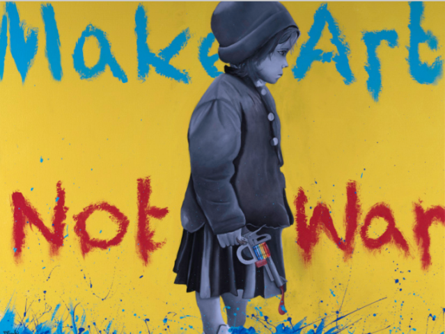 """Make Art Not War,"" Micah Johnson"