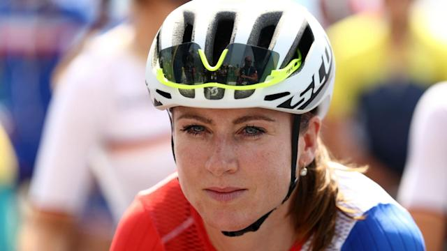 """Annemiek van Vleuten suffered a horrendous fall in the women's road race on Sunday, but was """"conscious"""" during her journey to hospital."""