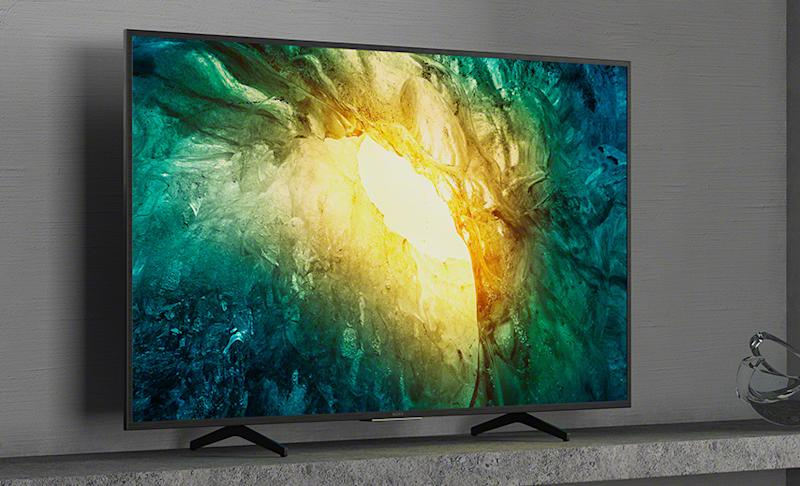 Sony X750H 65-inch 4K Ultra HD LED TV (2020). (Photo: Sony)