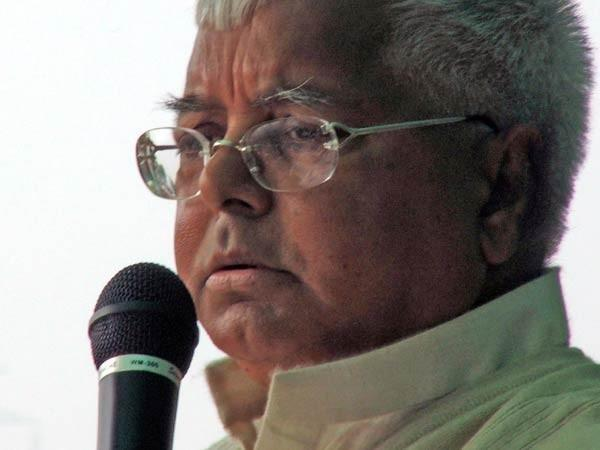 Former Bihar CM Lalu Prasad Yadav (File photo)
