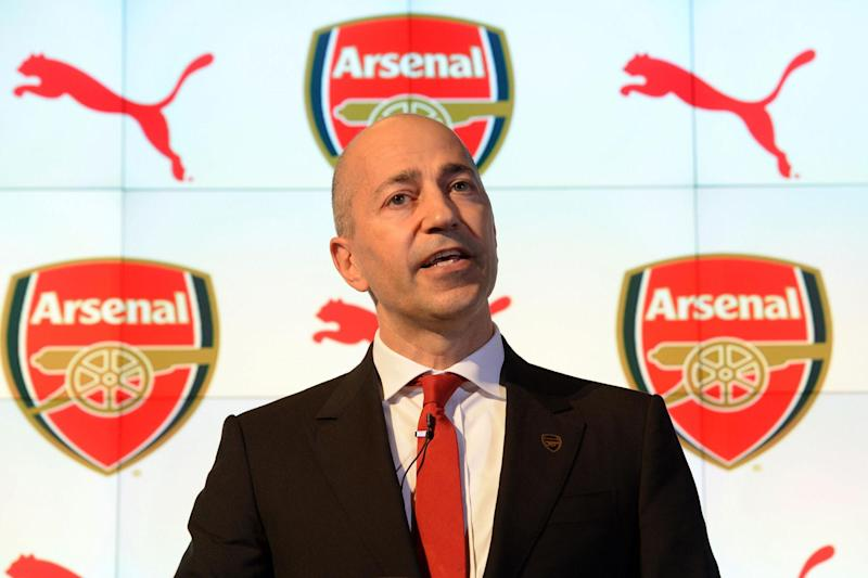 Gazidis' earnings were largely unchanged despite Arsenal's worst season for two decades: David Price/Arsenal FC via Getty Images