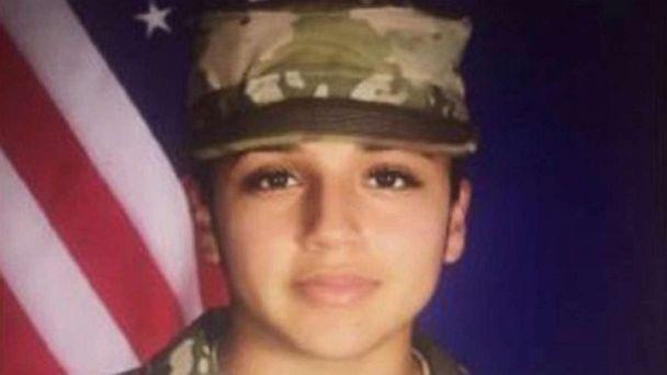 PHOTO: Army Pfc. Vanessa Guillen, 20, has been missing from her unit since April 22, 2020, according to the U.S. Army Criminal Investigation Command. (U.S. Army)