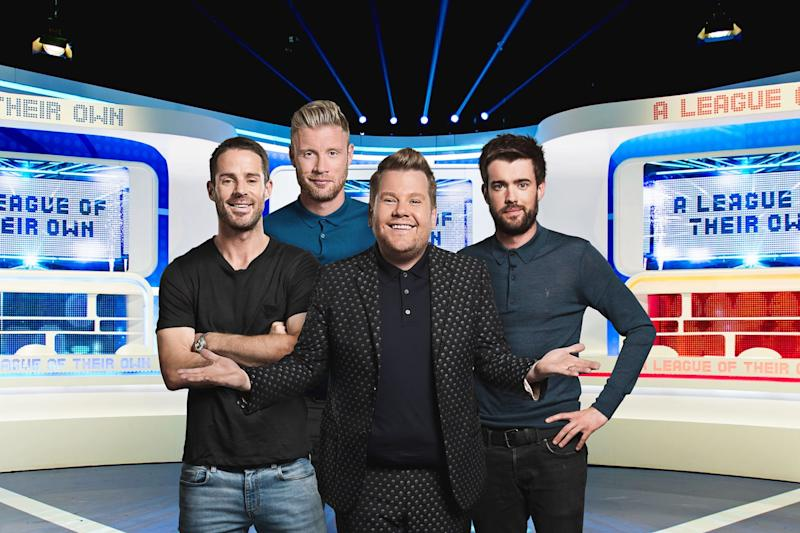 New Goal: Jack Whitehall has revealed he's leaving A League Of Their Own for other work: Sky1