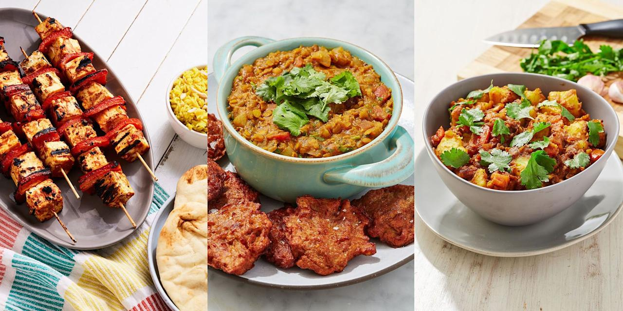 "<p>Curry night is by far one of our favourite nights, EVER. But, it shouldn't go ahead with a variety of delicious-tasting, easy Indian Side Dishes (obvs). Once you've decided on the kind of <a href=""https://www.delish.com/uk/cooking/recipes/g33455599/best-curry-recipes/"" target=""_blank"">curry</a> you fancy, it's worth exploring your options when it comes to the sides. Is it a basket full of <a href=""https://www.delish.com/uk/cooking/recipes/a31188763/onion-bhajis/"" target=""_blank"">Onion Bhajis</a> you crave? Or a dozen <a href=""https://www.delish.com/uk/cooking/recipes/a29455921/naan-bread/"" target=""_blank"">Naan Breads</a> all at once? Or even a few bowls of <a href=""https://www.delish.com/uk/cooking/recipes/a31183852/tarka-daal/"" target=""_blank"">Tarka Daal</a>? Whatever it is, you're bound to cook up an Indian feast that's worth all the effort. </p>"