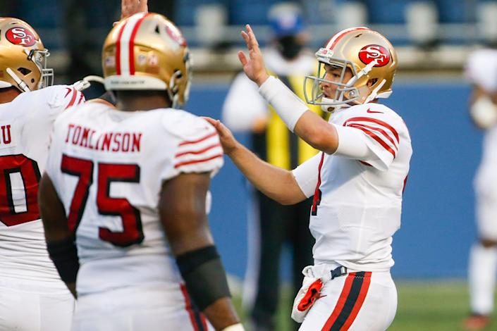 It may seem like virtually all of their key players are sidelined, but San Francisco has time to heal given it plays once in 24 days following this week's Thursday night date with Green Bay.