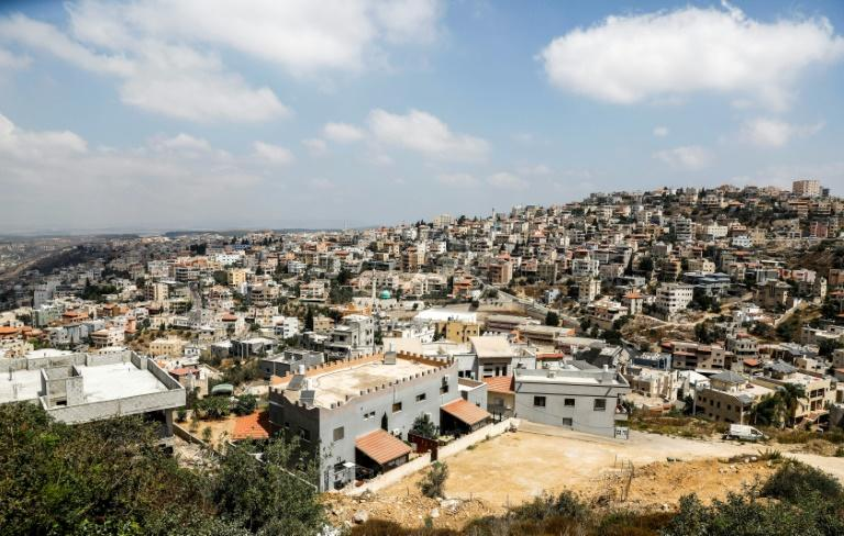 The Arab Israeli hill town of Umm al-Fahm is one of the areas Trump's peace plan earmarks for possible transfer to a future Palestinian state