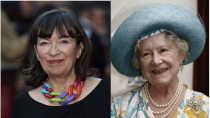 <p>As the characters age in <em>The Crown</em>, Marion Bailey took over for Victoria Hamilton as the Queen Mother. Marion's résumé includes a movie adaptation of Jane Austen's <em>Persuasion </em>as well as <em>Allied</em><em>, </em>which stars Brad Pitt and Marion Cotillard. </p>