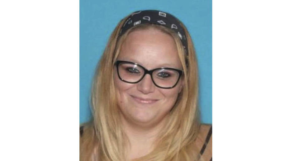 A photo of missing woman Cassidy Rainwater who was held in a cage at some point at James Phelps' home following her disappearance. Source: Dallas County Sheriff's Office