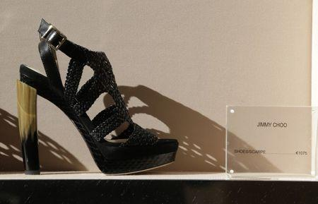 Jimmy Choo puts itself up for sale following revenue rebound
