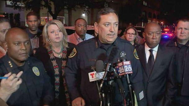 PHOTO: Houston Police Chief Art Acevedo delivers an update on the death of Sgt. Chris Brewster on Saturday, Dec. 7, 2019. (KTRK)