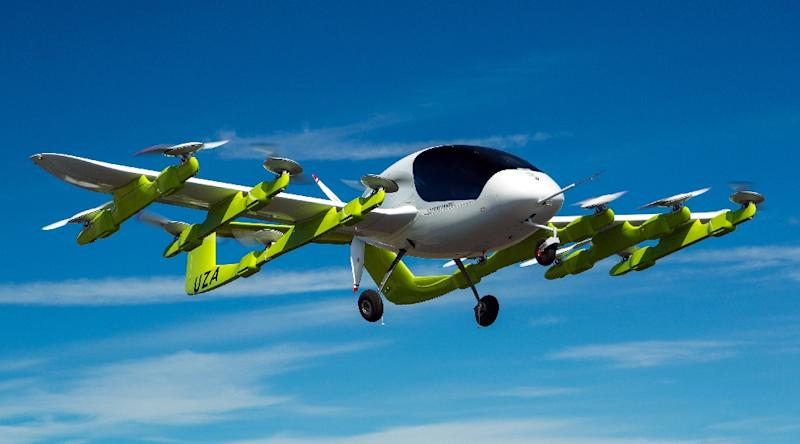 Google founder Larry Page's startup Kitty Hawk , testing flying taxis such as this model in New Zealand, is moving a step closer to marketing its personal flying machines by offering test rides to US customers