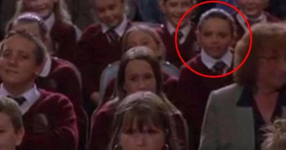 Jesy pictured in 2002's About A Boy when she was a youngster (Copyright: Universal Pictures)