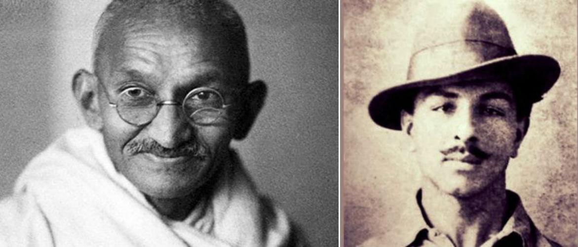 <p>A lot of critics claim that Gandhi could have stopped the execution of Bhagat Singh and his fellow freedom fighters, but chose not to. Some go as far as to say that the 'father of our nation' even conspired to have Singh killed, as they both had different ideologies. </p>