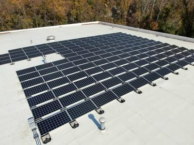 Kraft Power's affordable and efficient rooftop designed and installed by Genie Solar Energy