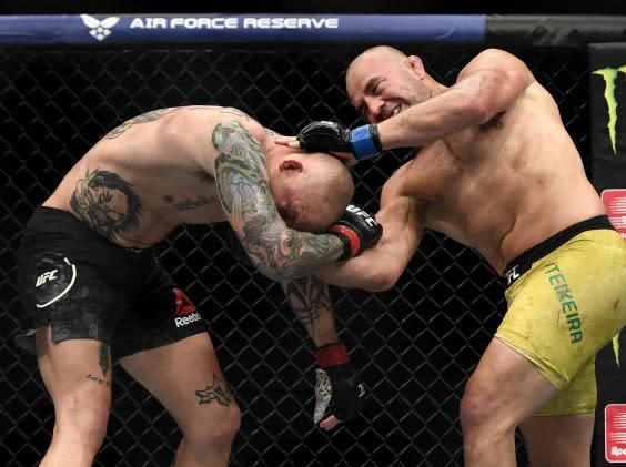 Glover Teixeira dominated the main event (Getty)