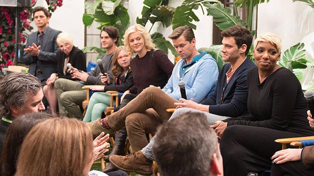 """The New Normal"" TCA Set VIsit"