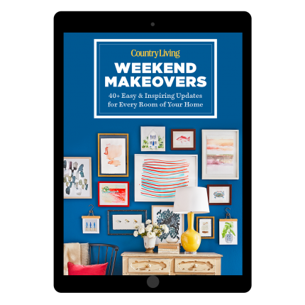 """<p>countryliving.com</p><p><strong>$9.99</strong></p><p><a href=""""https://shop.countryliving.com/country-living-weekend-makeovers-digital.html"""" rel=""""nofollow noopener"""" target=""""_blank"""" data-ylk=""""slk:Shop Now"""" class=""""link rapid-noclick-resp"""">Shop Now</a></p><p>It's the small touches that can freshen up a room. Now you can get dozens of easy makeover ideas you can finish in a weekend with <em>Country Living's</em> new digital guide!</p>"""