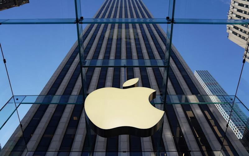 Apple has been criticised for referring to annexed Crimea as part of Russia   - REUTERS