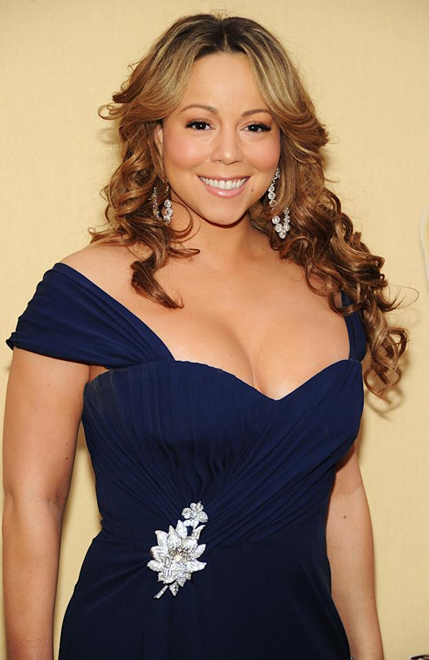 "March 27: Mariah Carey turns 42 Kevin Mazur/<a href=""http://www.wireimage.com"" target=""new"">WireImage.com</a> - March 7, 2010"