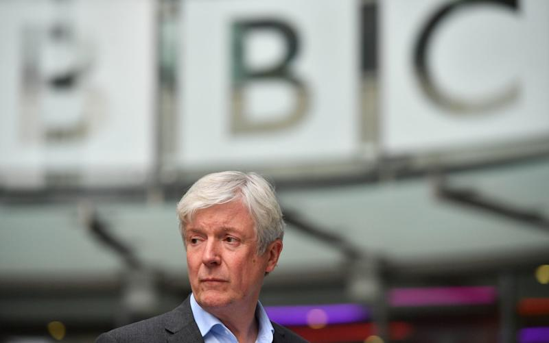 BBC director-general Tony Hall  - PA