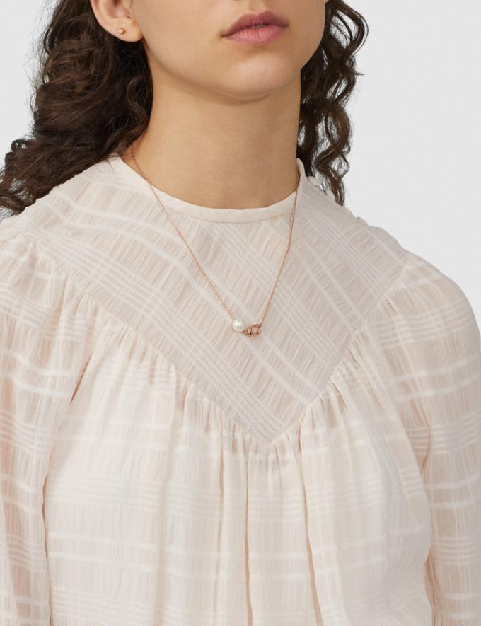 <p>These <span>Sculpted Signature Pearl Necklace</span> ($63, originally $125) will go with everything.</p>