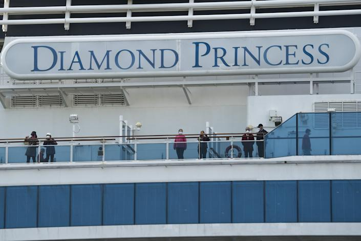 """SARS-CoV-2 RNA was identified on a variety of surfaces"" aboard the Diamond Princess cruise ship, according to the CDC."